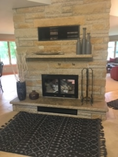 New accessories to update the fireplace hearth + mantle