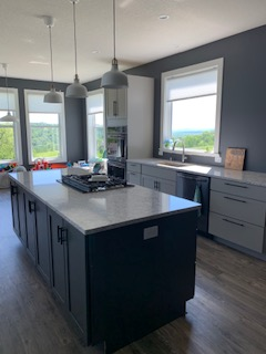 New Construction cabinets + counter tops