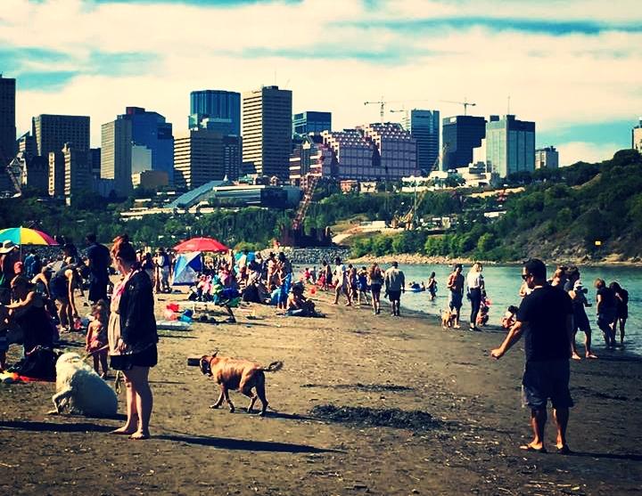 Accidental Beach, Edmonton, AB, Canada