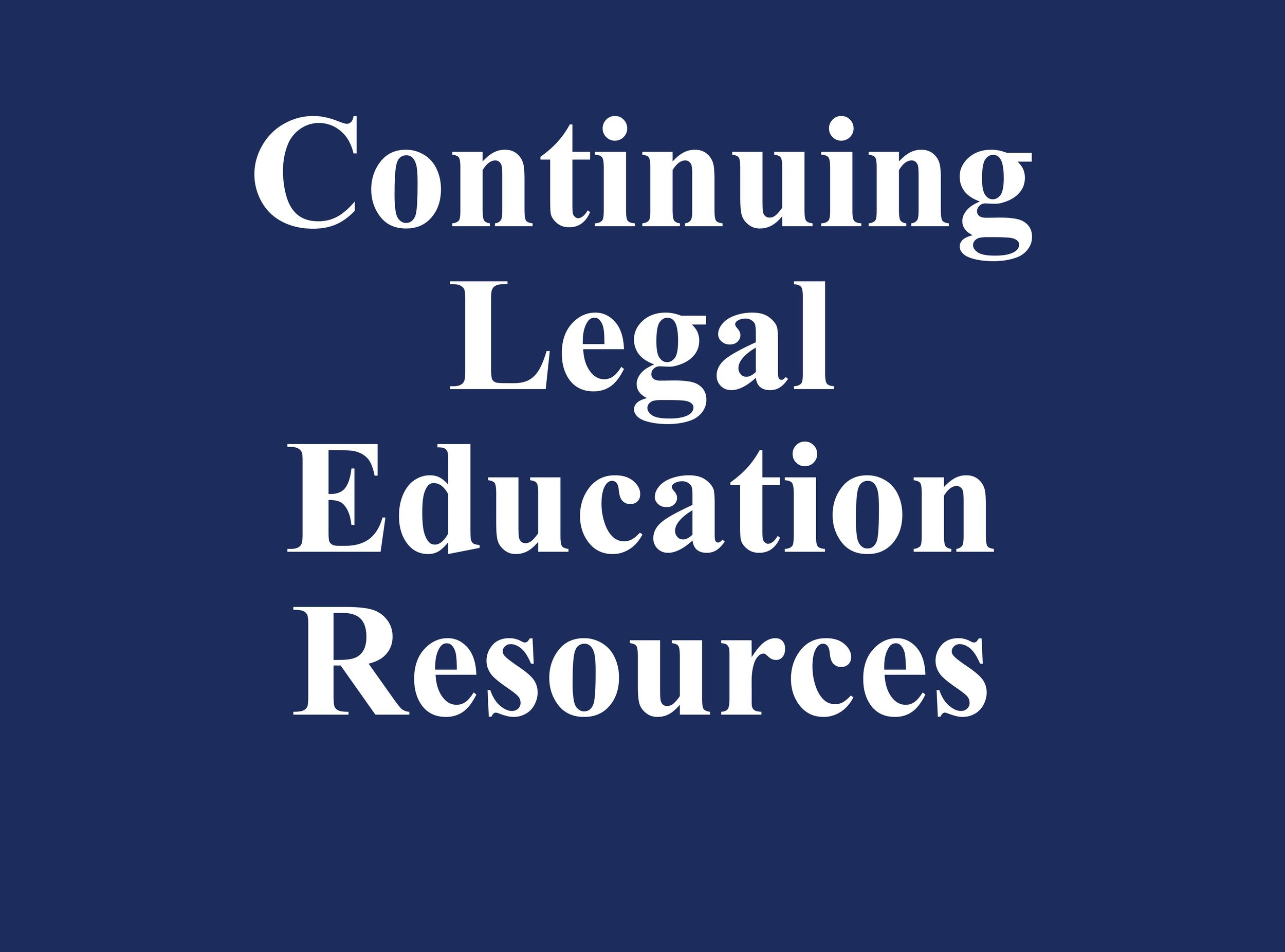 Our Office, in partnership with non-profits and businesses, hosts Continuing Legal Education seminars for legal professionals in Harris County and throughout Texas.