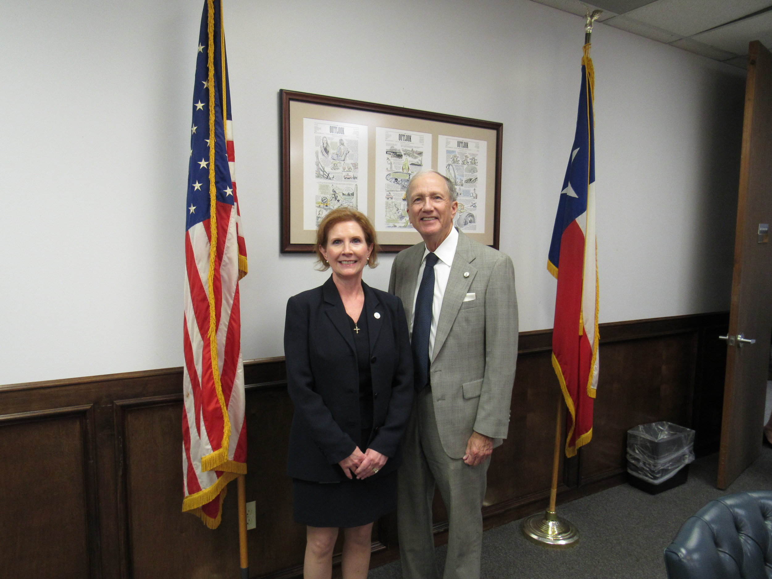 Assistant County Attorney Bobbie K. Risner and County Attorney Vince Ryan.