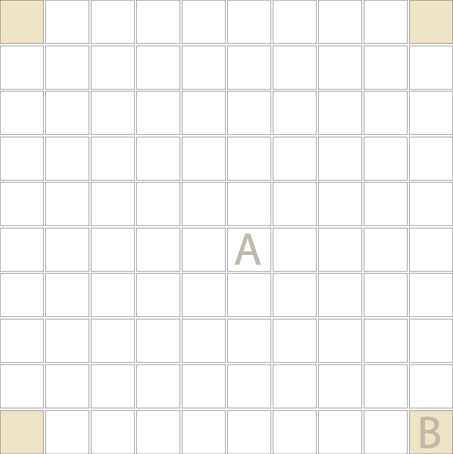 "Square 1""x1""  TMR-11 (1 sheet)"