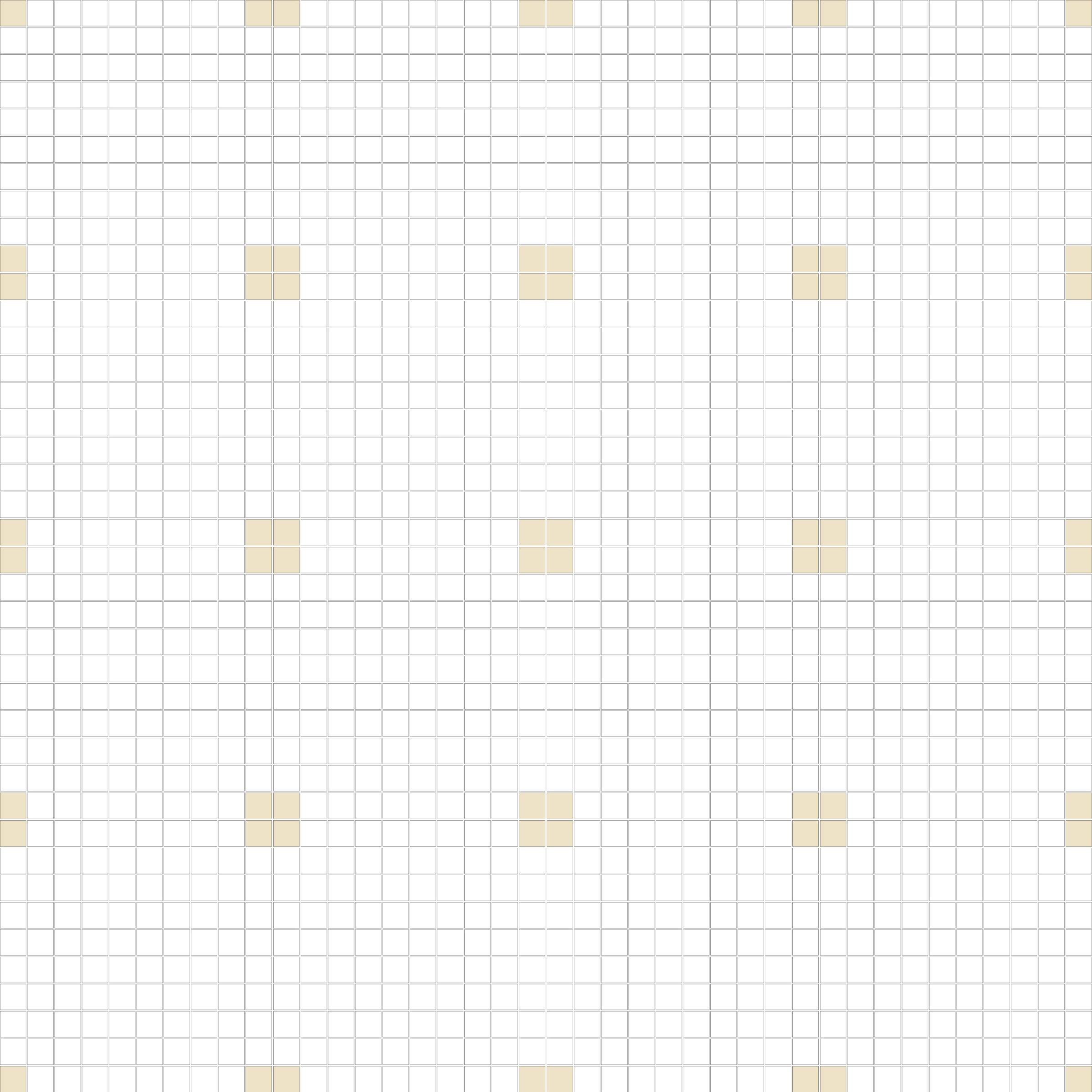 "Square 1""x1""  TMR-11 (16 sheets)"
