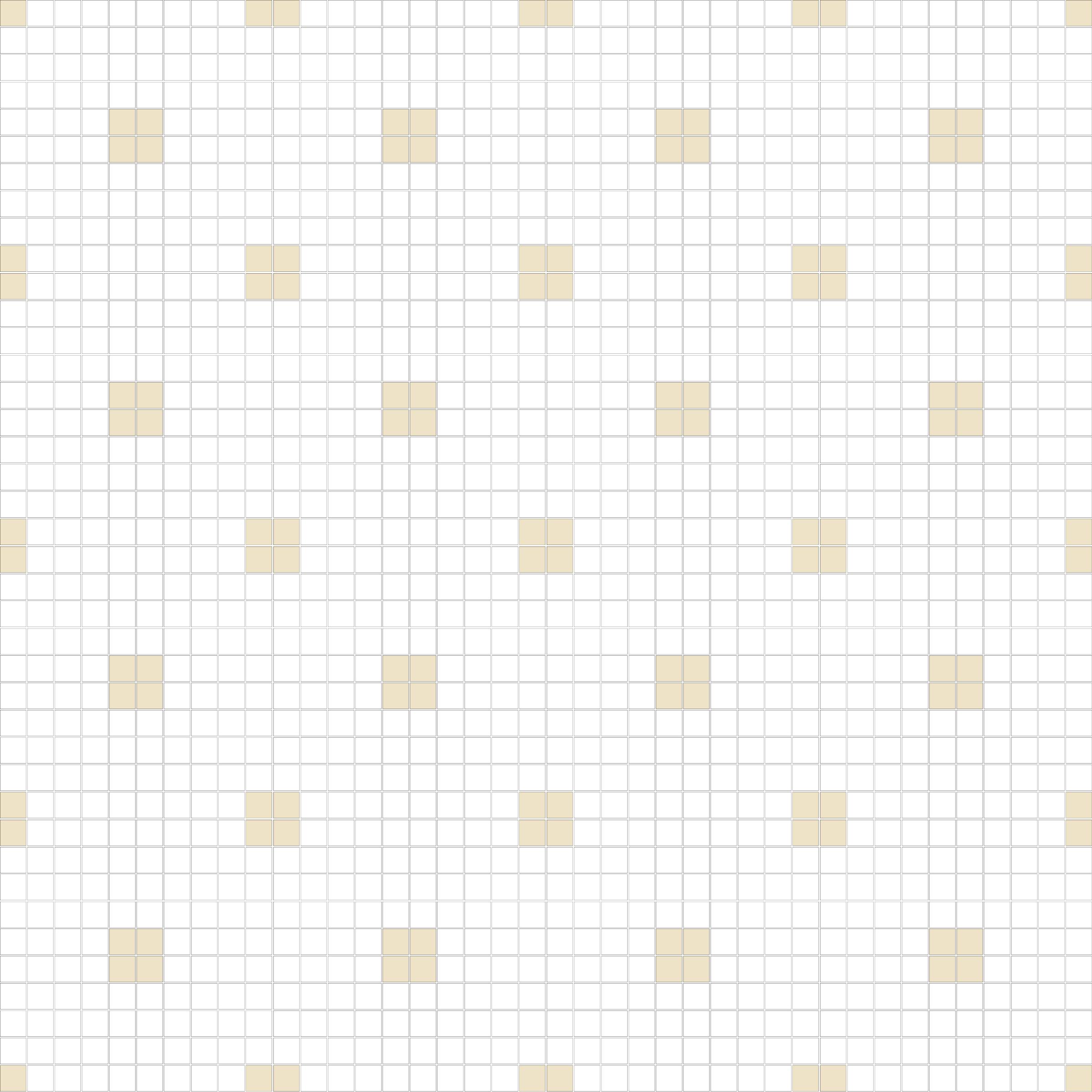 "Square 1""x1""  TMR-12 (16 sheets)"