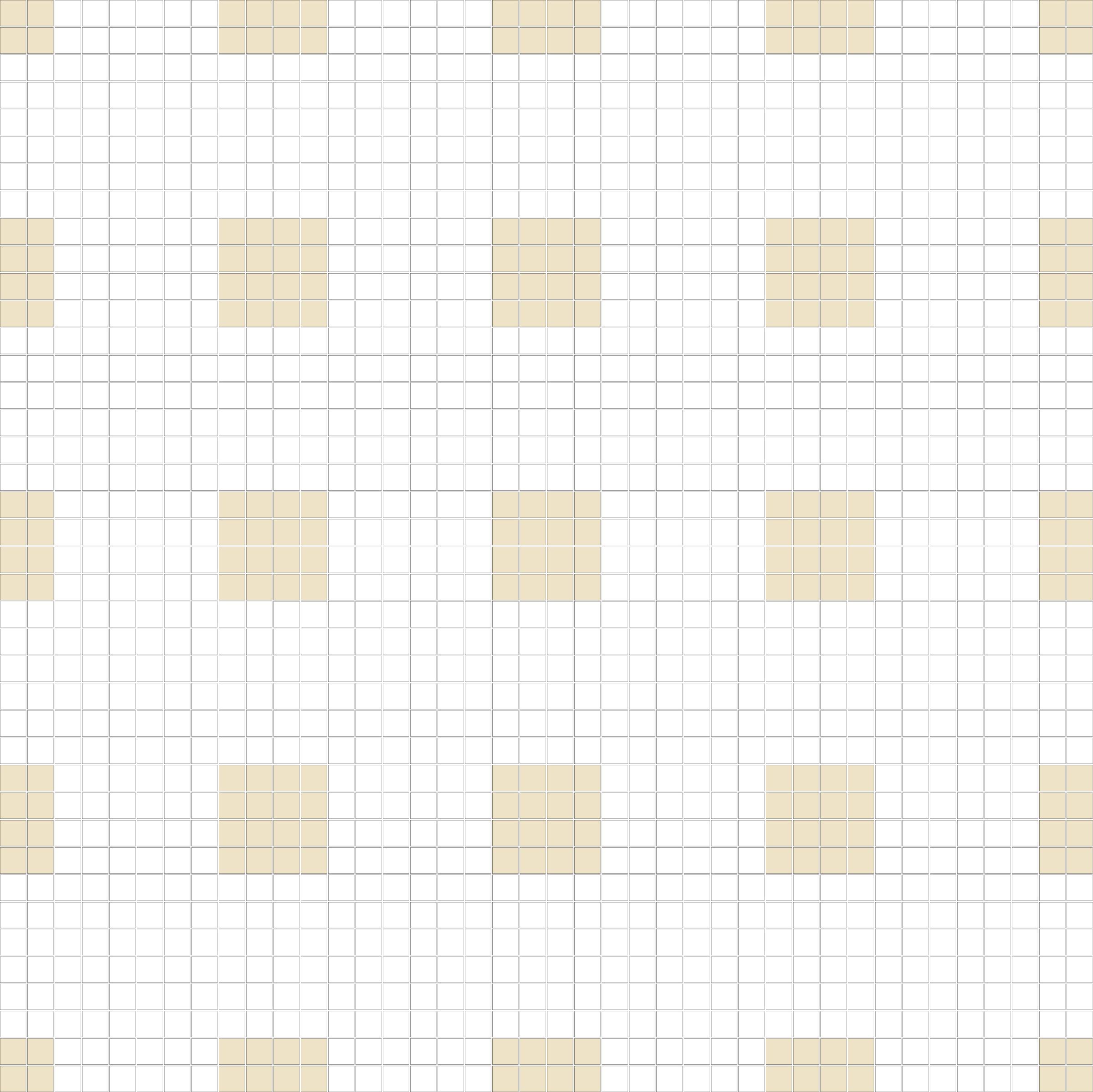 "Square 1""x1""  TMR-15 (16 sheets)"