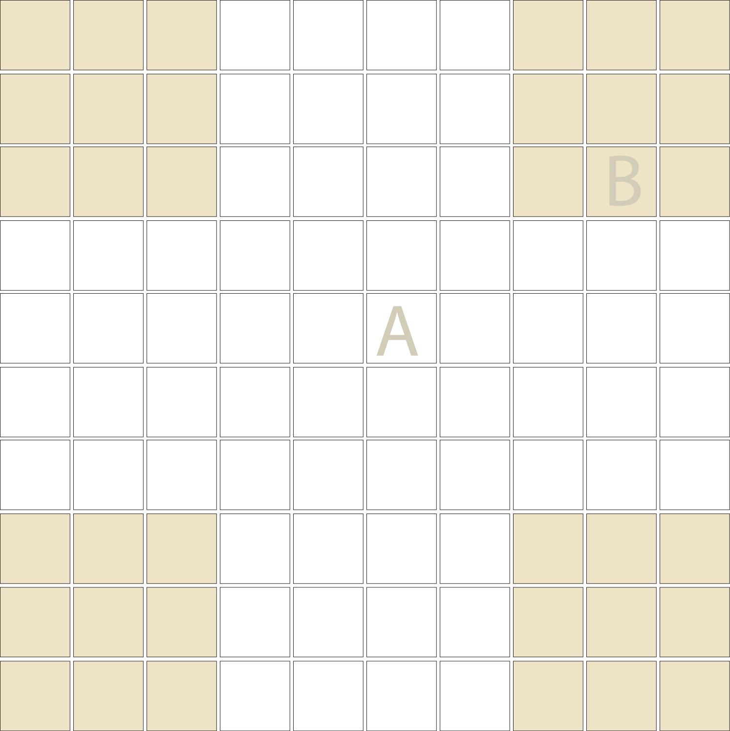 "Square 1""x1""  TMR-20 (1 sheet)"