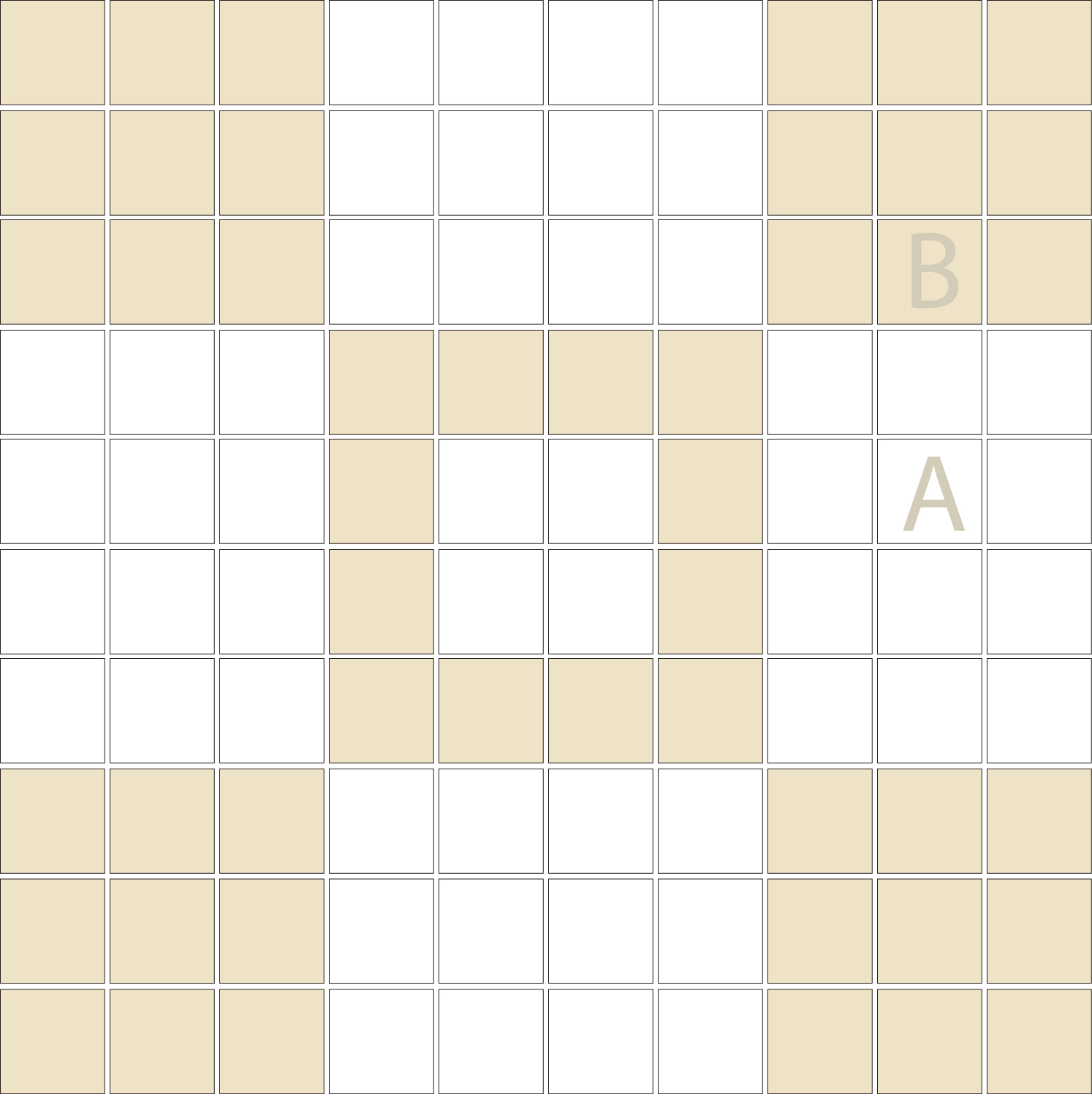 "Square 1""x1""  TMR-22 (1 sheet)"