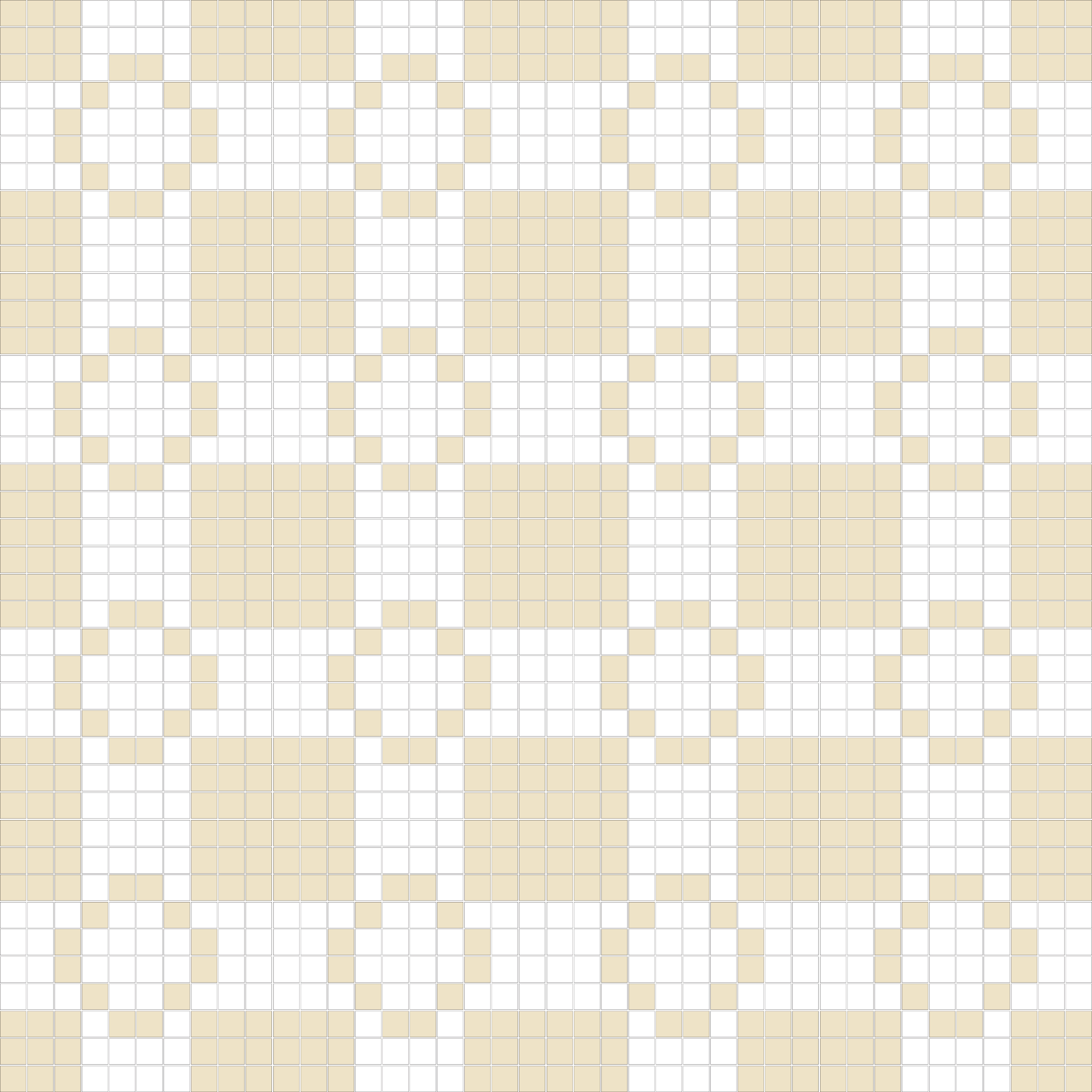 "Square 1""x1""  TMR-23 (16 sheets)"