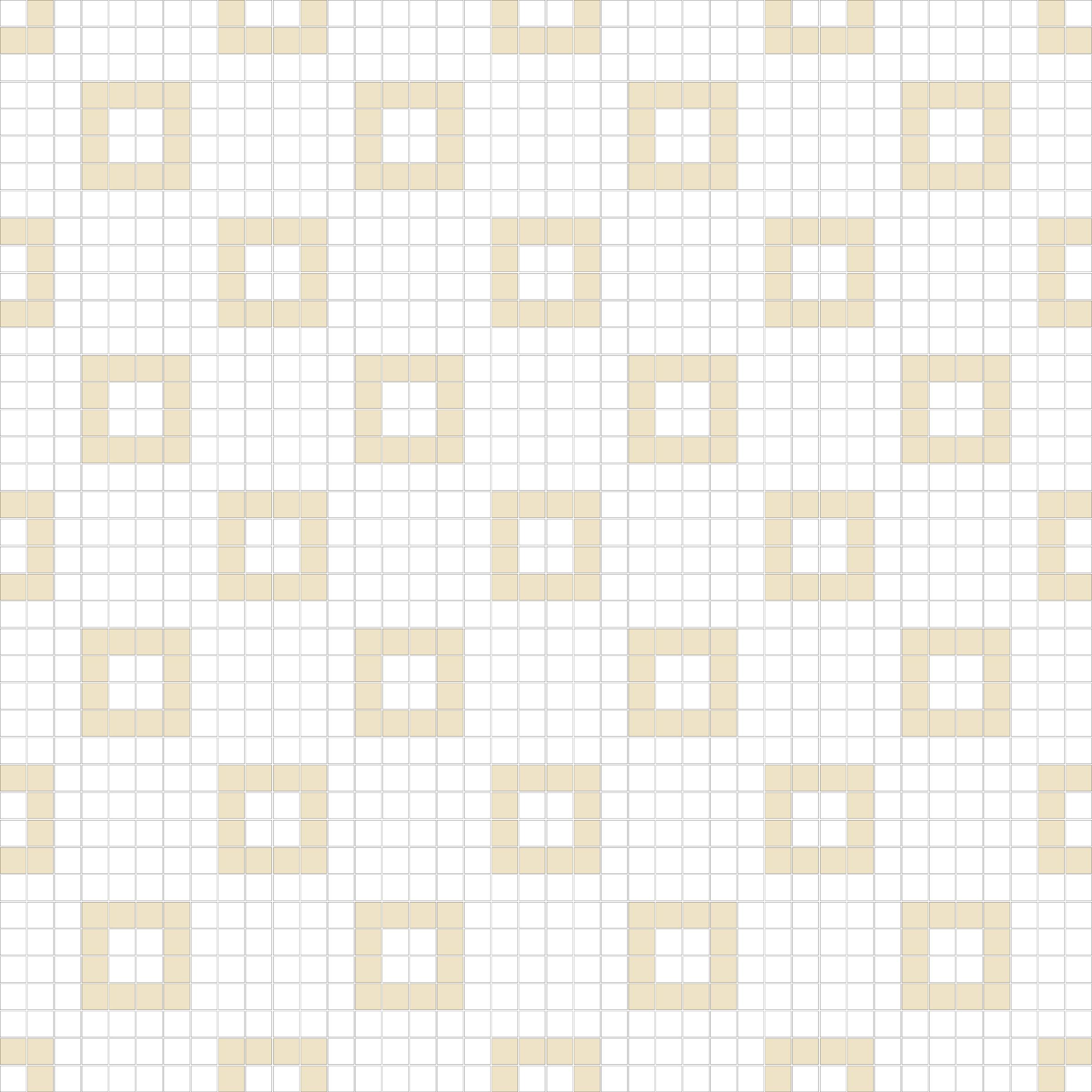 "Square 1""x1""  TMR-31 (16 sheets)"