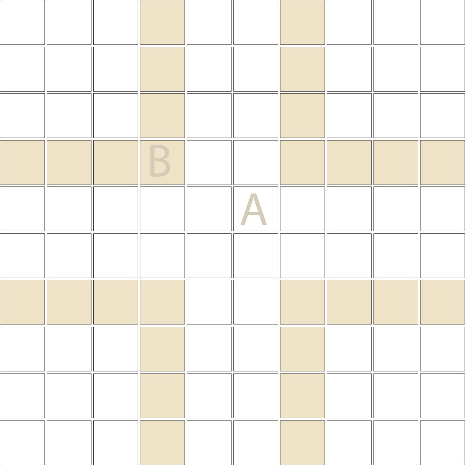"Square 1""x1""  TMR-35 (1 sheet)"