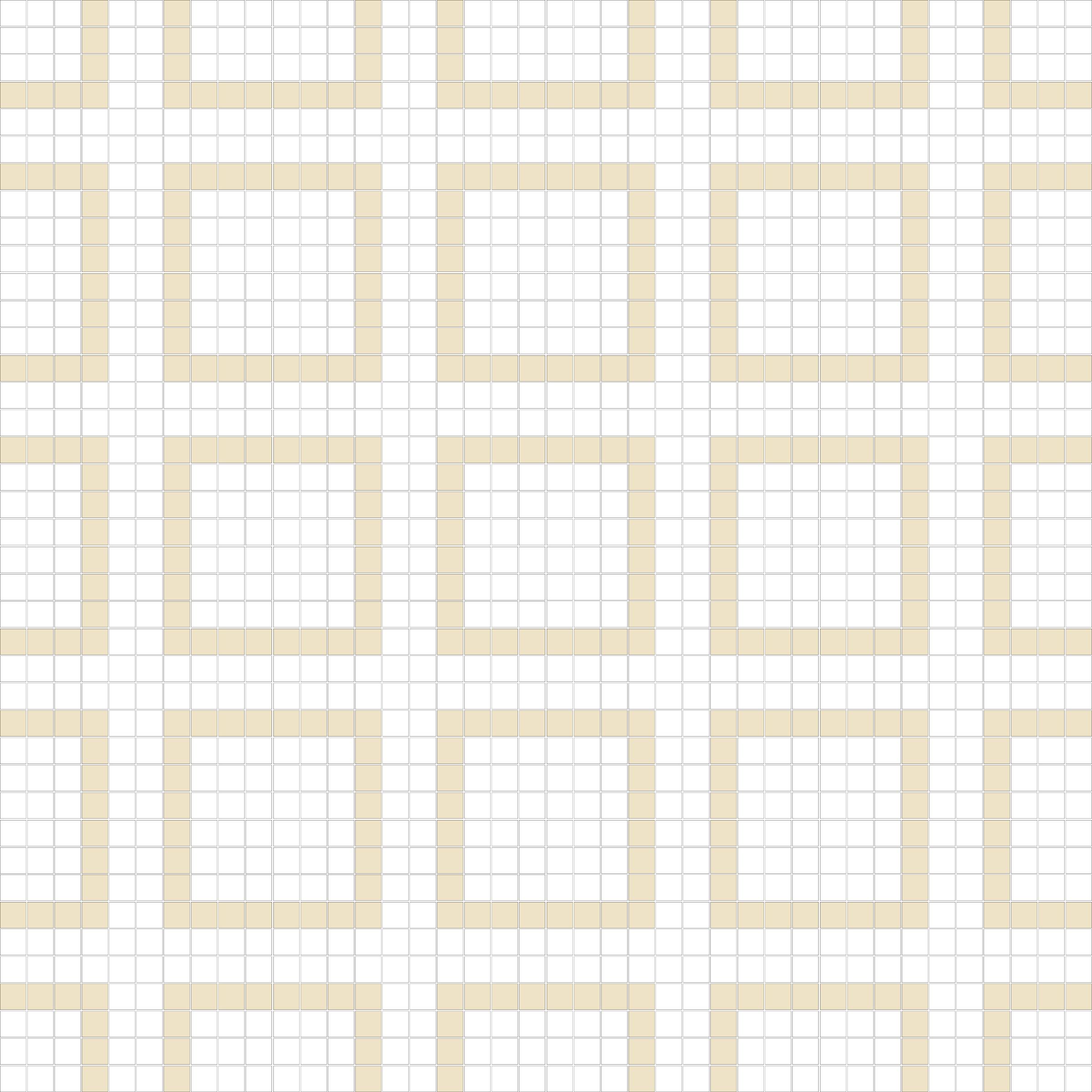 "Square 1""x1""  TMR-35 (16 sheets)"