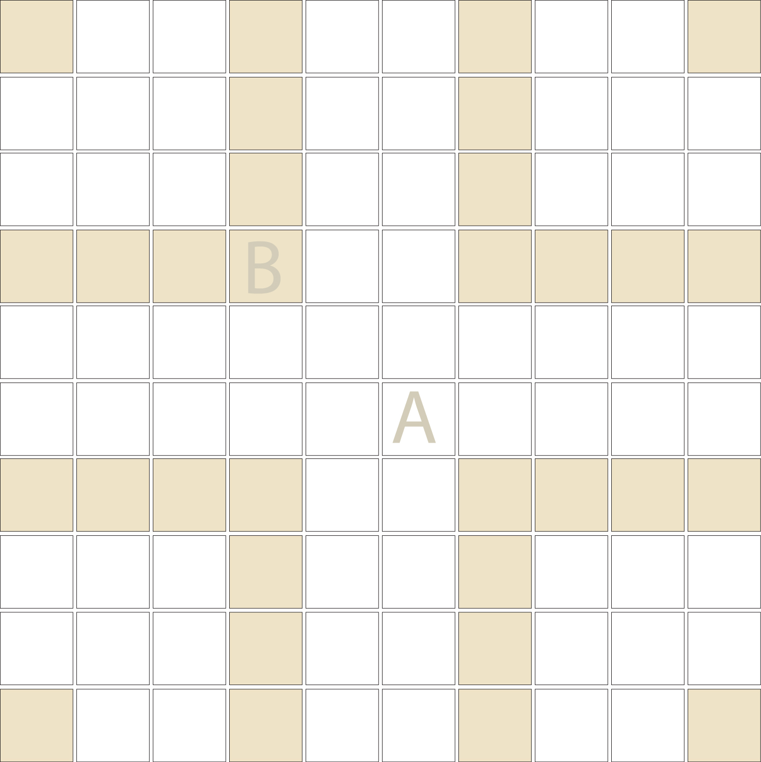 "Square 1""x1""  TMR-36 (1 sheet)"