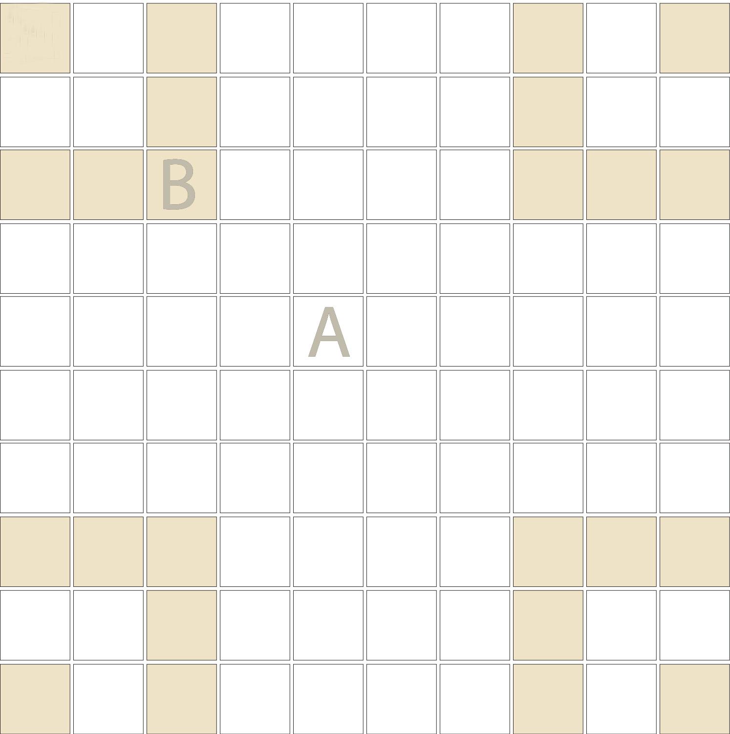 "Square 1""x1""  TMR-38 (1 sheet)"