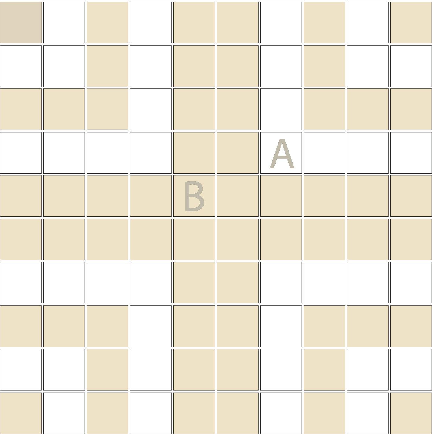 "Square 1""x1""  TMR-41 (1 sheet)"
