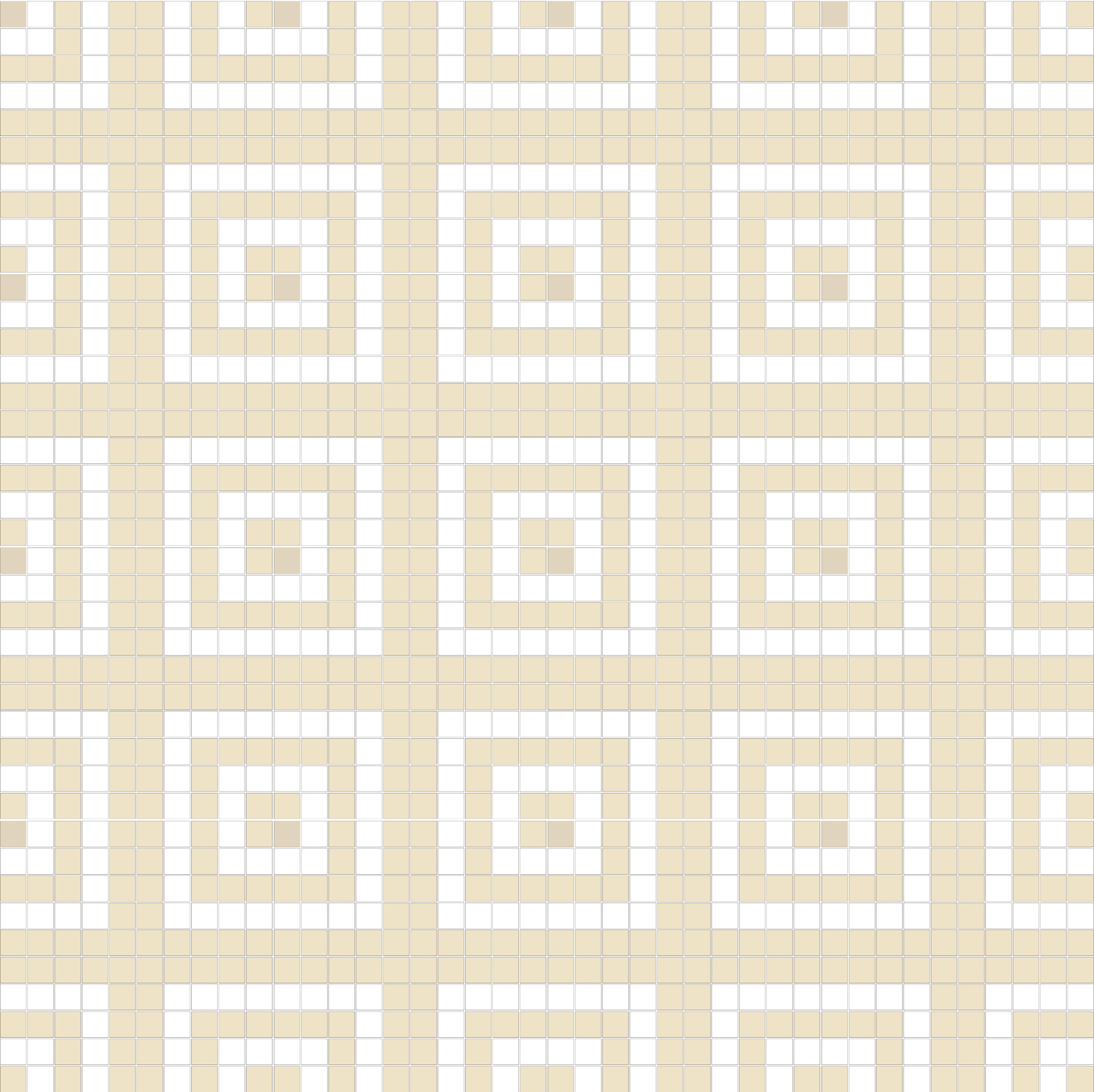 "Square 1""x1""  TMR-41 (16 sheets)"