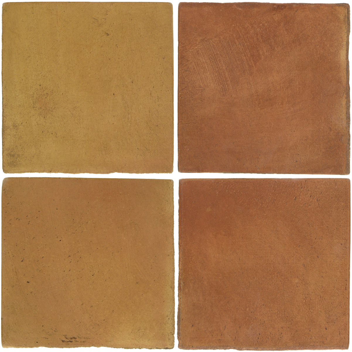 Pedralbes Antique Terracotta  2 Color Combinations  OHS-PSSW Siena Wheat + OHS-PSTR Traditional
