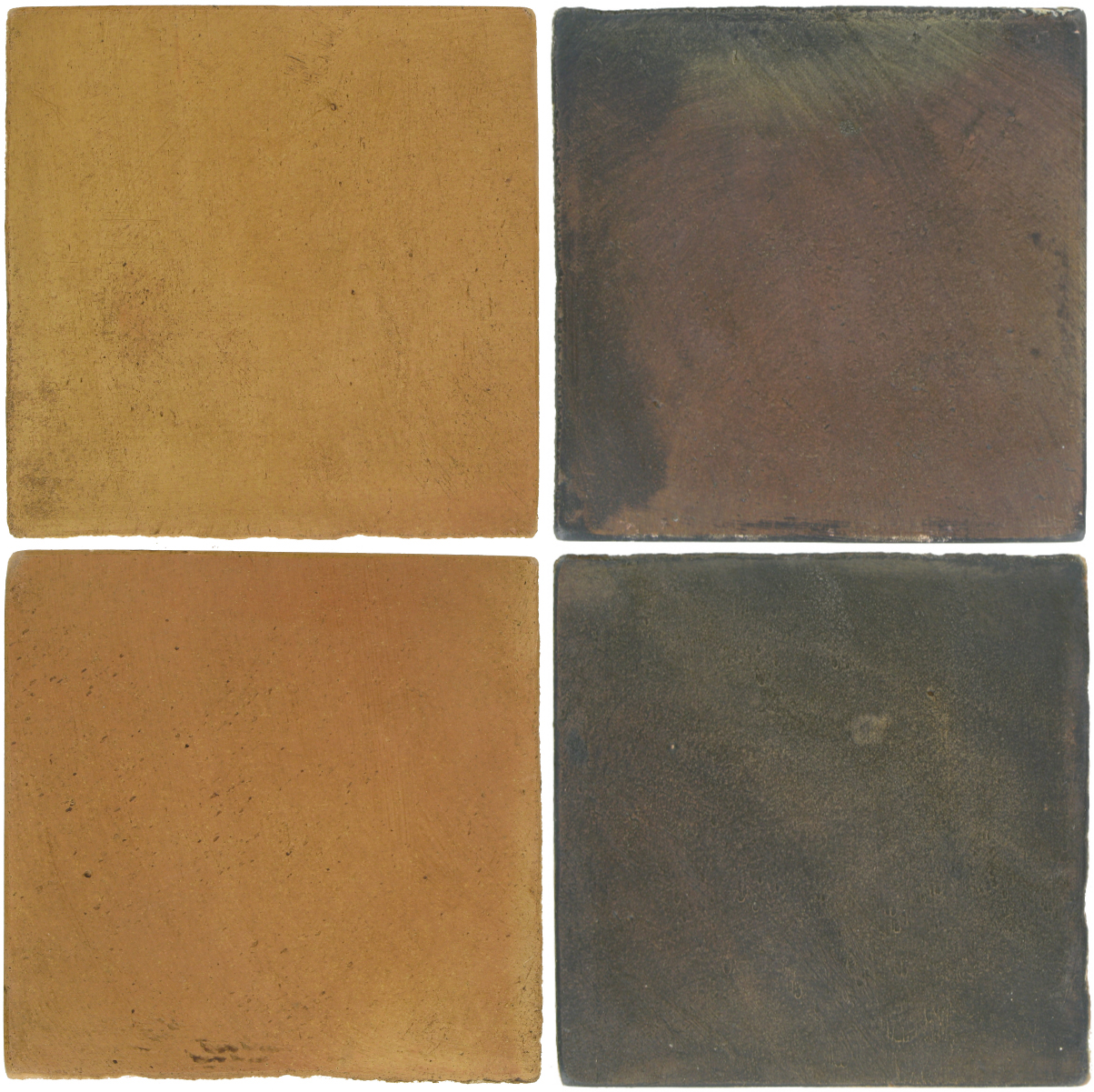 Pedralbes Antique Terracotta  2 Color Combinations  OHS-PSSW Siena Wheat + OHS-PSTG Terra Grey
