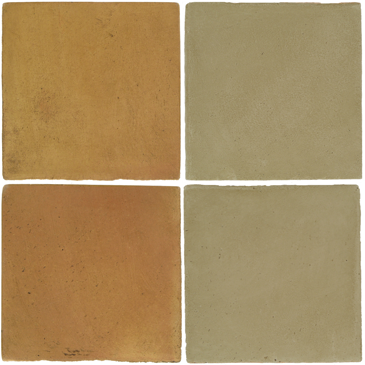 Pedralbes Antique Terracotta  2 Color Combinations  OHS-PSSW Siena Wheat + OHS-PGDW Dirty W.