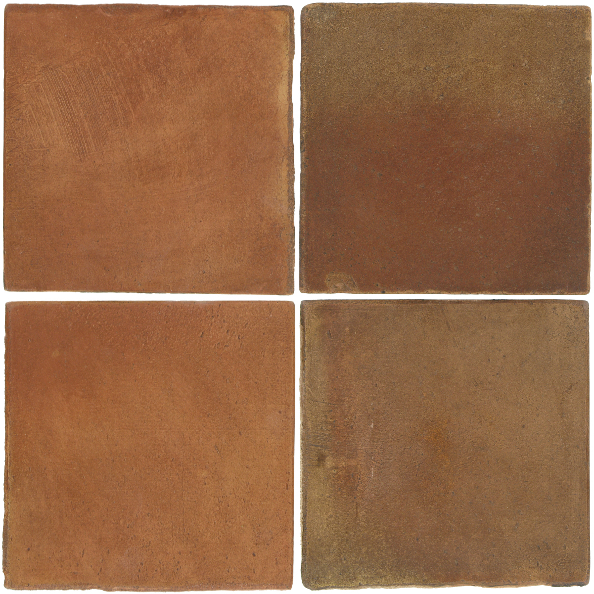 Pedralbes Antique Terracotta  2 Color Combinations  OHS-PSTR Traditional + OHS-PSCM Camel Brown