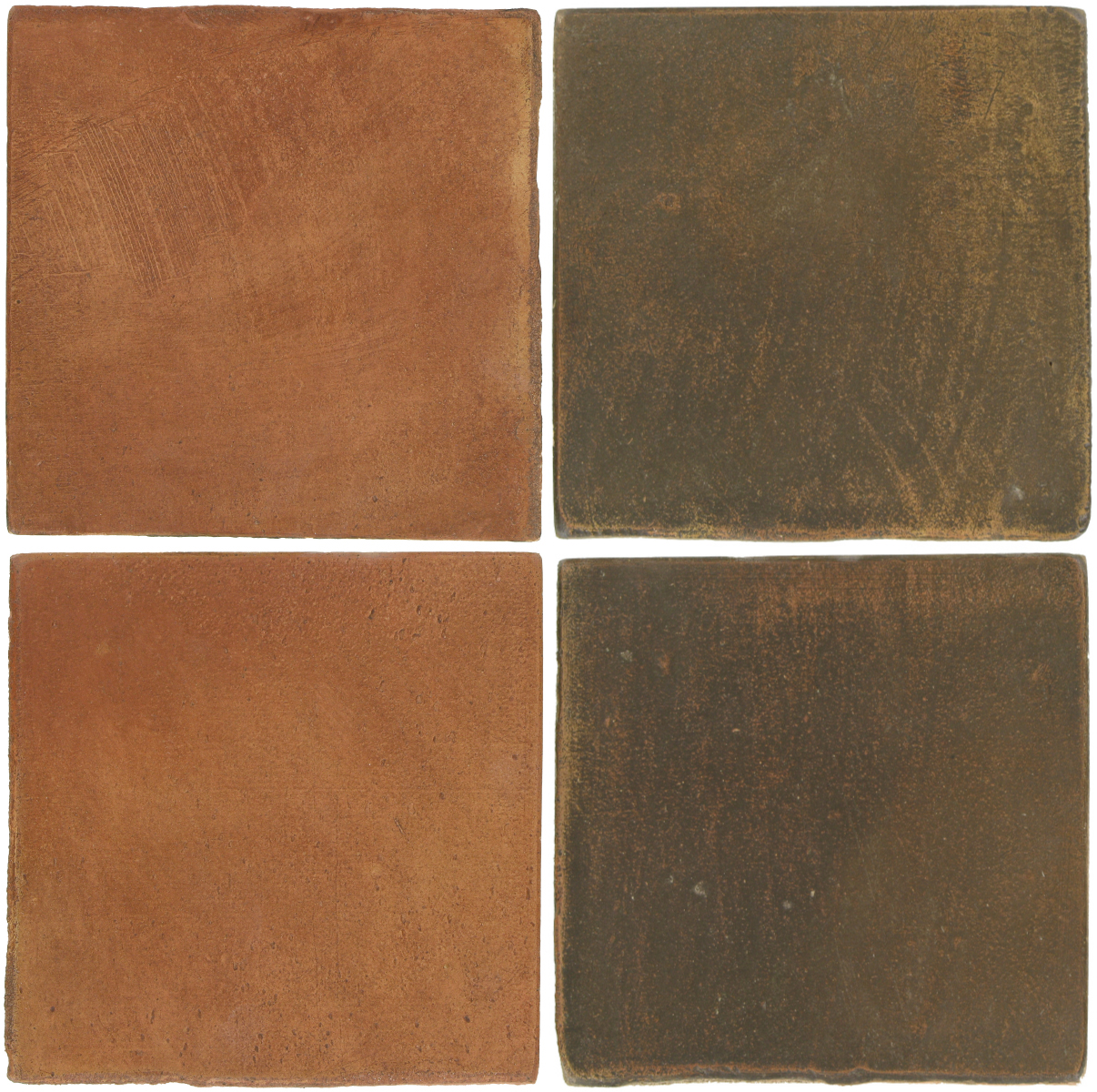 Pedralbes Antique Terracotta  2 Color Combinations  OHS-PSTR Traditional + OHS-PSVN Verona Brown