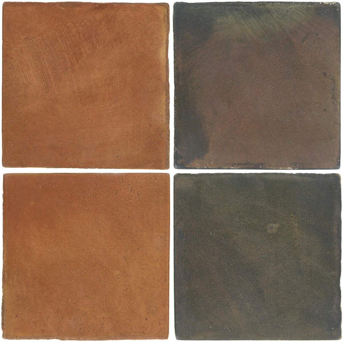 Pedralbes Antique Terracotta  2 Color Combinations  OHS-PSTR Traditional + OHS-PSTG Terra Grey