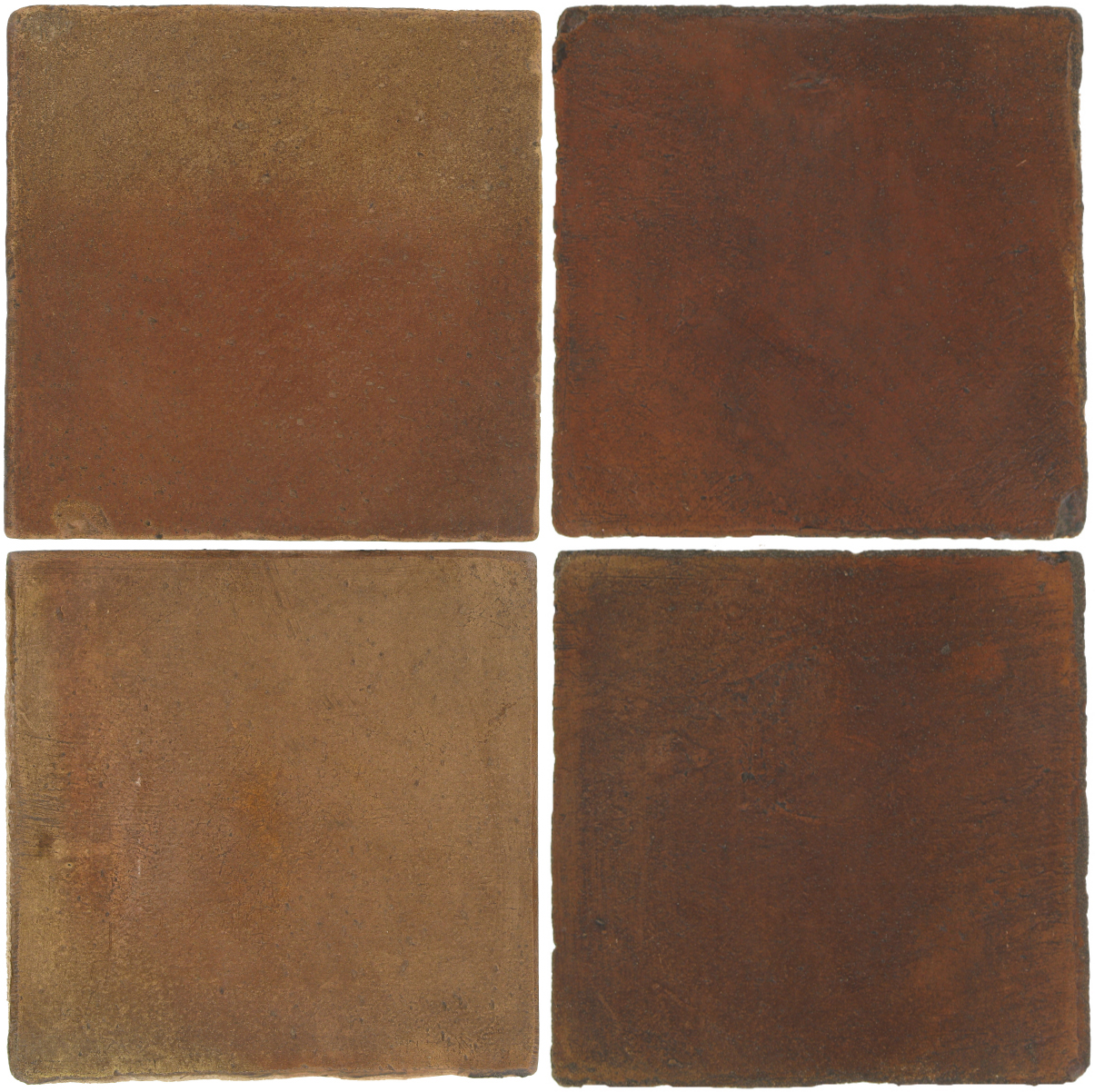 Pedralbes Antique Terracotta  2 Color Combinations  OHS-PSCM Camel Brown + OHS-PSOW Old World