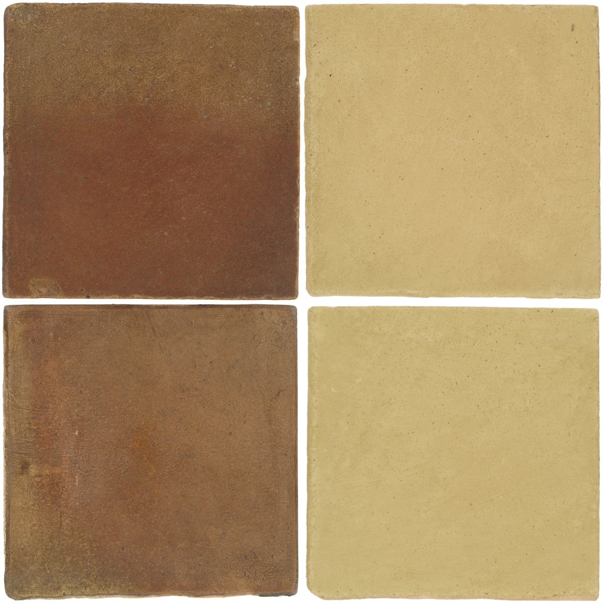 Pedralbes Antique Terracotta  2 Color Combinations  OHS-PSCM Camel Brown + OHS-PGGW Golden W.