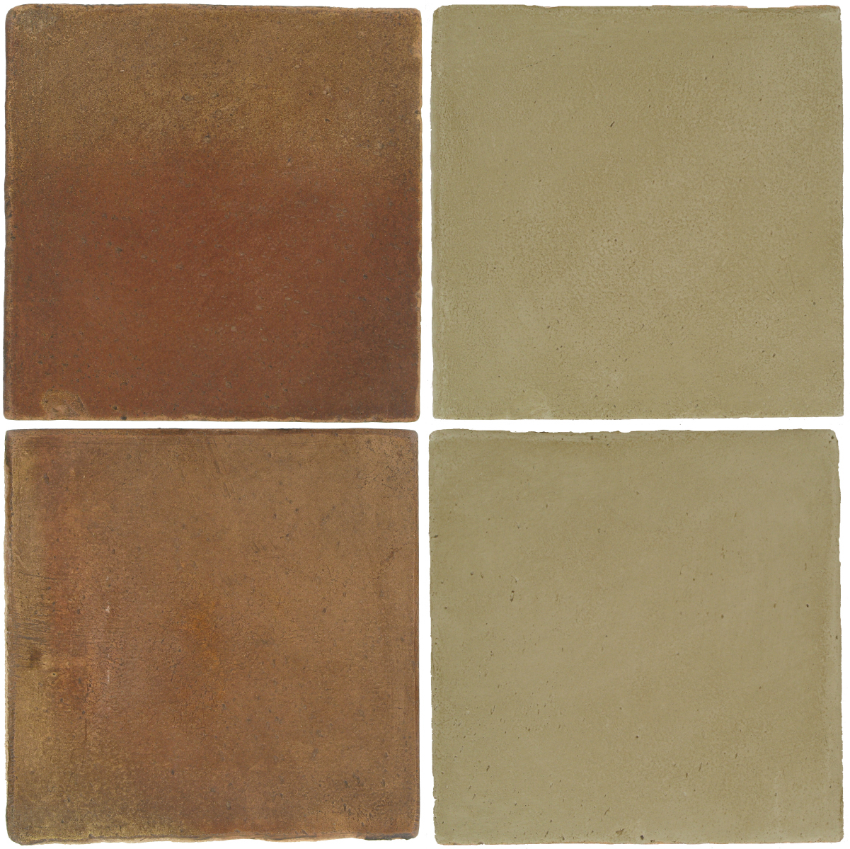 Pedralbes Antique Terracotta  2 Color Combinations  OHS-PSCM Camel Brown + OHS-PGDW Dirty W.
