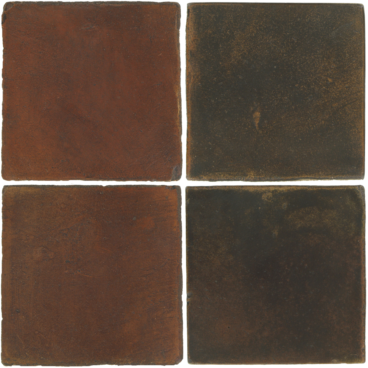 Pedralbes Antique Terracotta  2 Color Combinations  OHS-PSOW Old World + OHS-PSCO Cologne Brown
