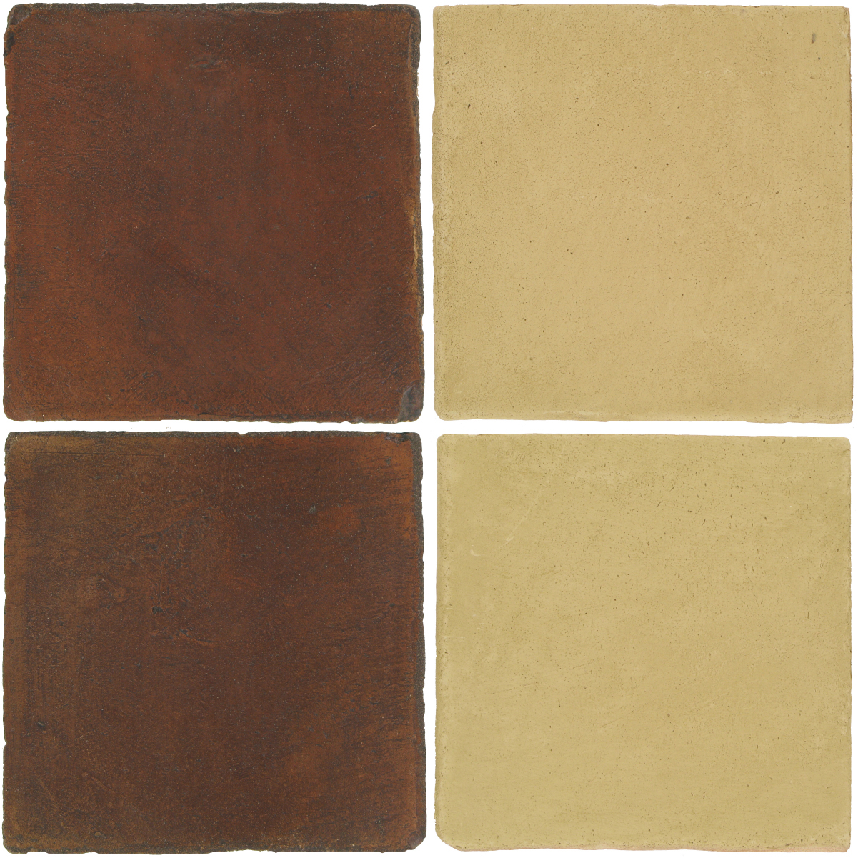 Pedralbes Antique Terracotta  2 Color Combinations  OHS-PSOW Old World + OHS-PGGW Golden W.