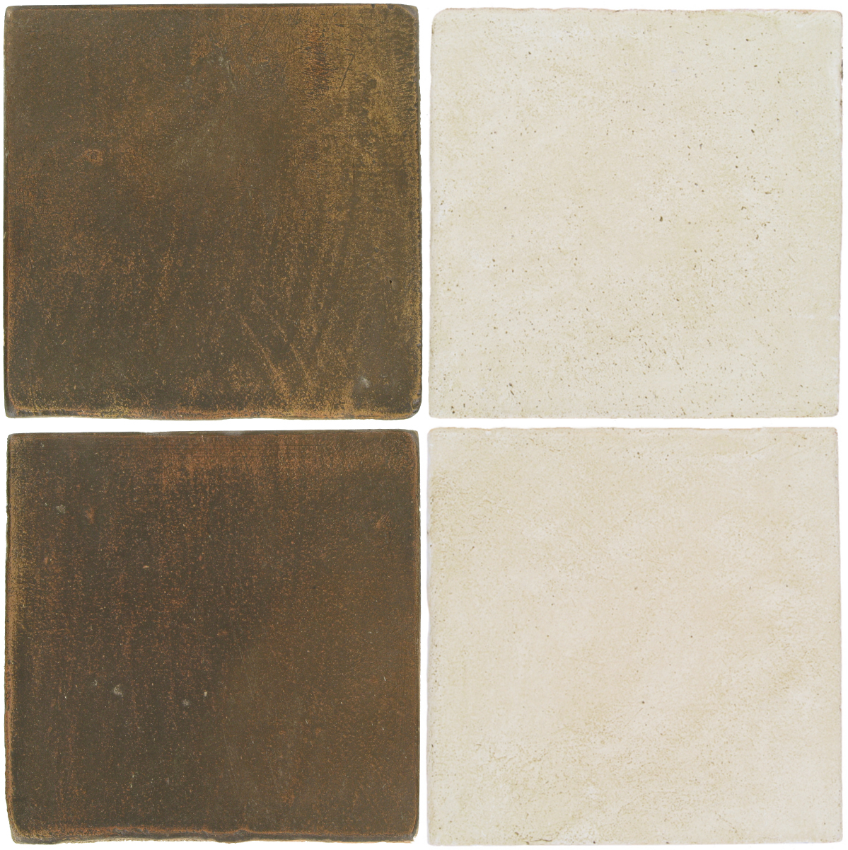 Pedralbes Antique Terracotta  2 Color Combinations  OHS-PSVN Verona Brown + OHS-PGAW Antique White