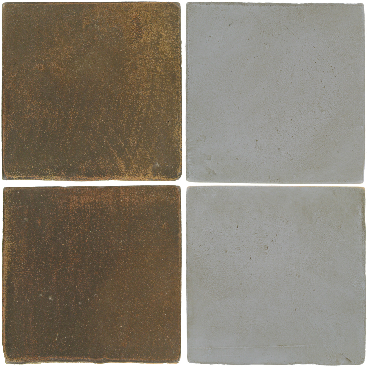 Pedralbes Antique Terracotta  2 Color Combinations  OHS-PSVN Verona Brown + OHS-PGOG Oyster Grey