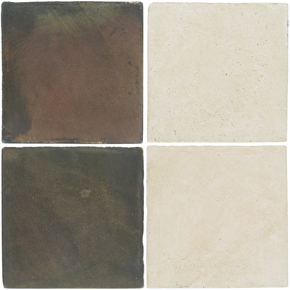 Pedralbes Antique Terracotta  2 Color Combinations  OHS-PSTG Terra Grey + OHS-PGAW Antique White