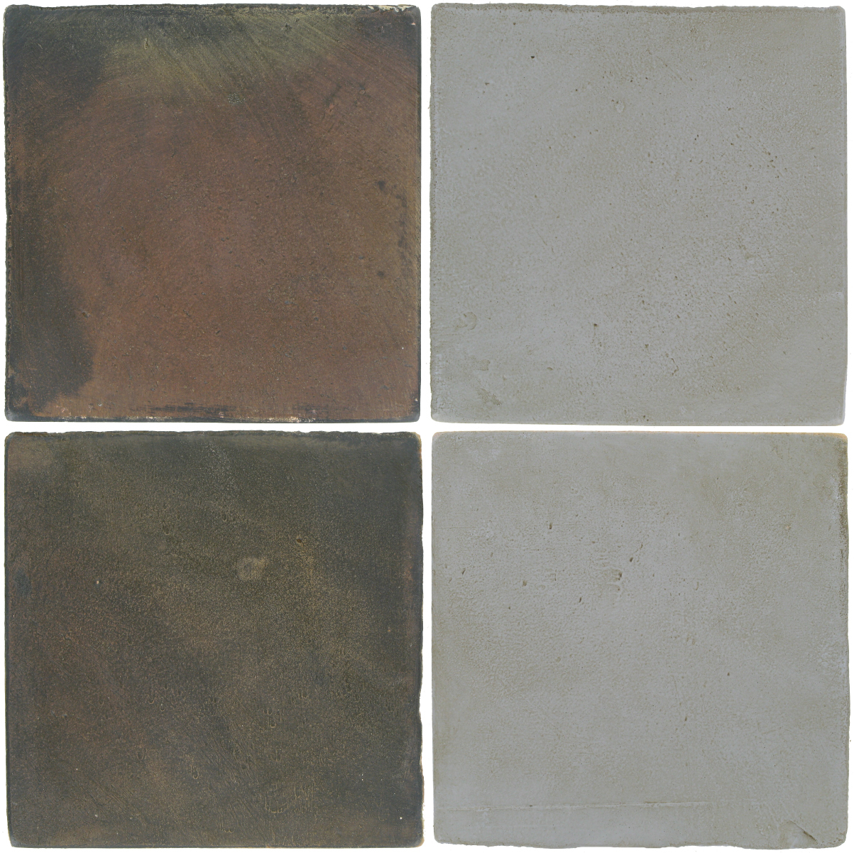 Pedralbes Antique Terracotta  2 Color Combinations  OHS-PSTG Terra Grey + OHS-PGOG Oyster Grey