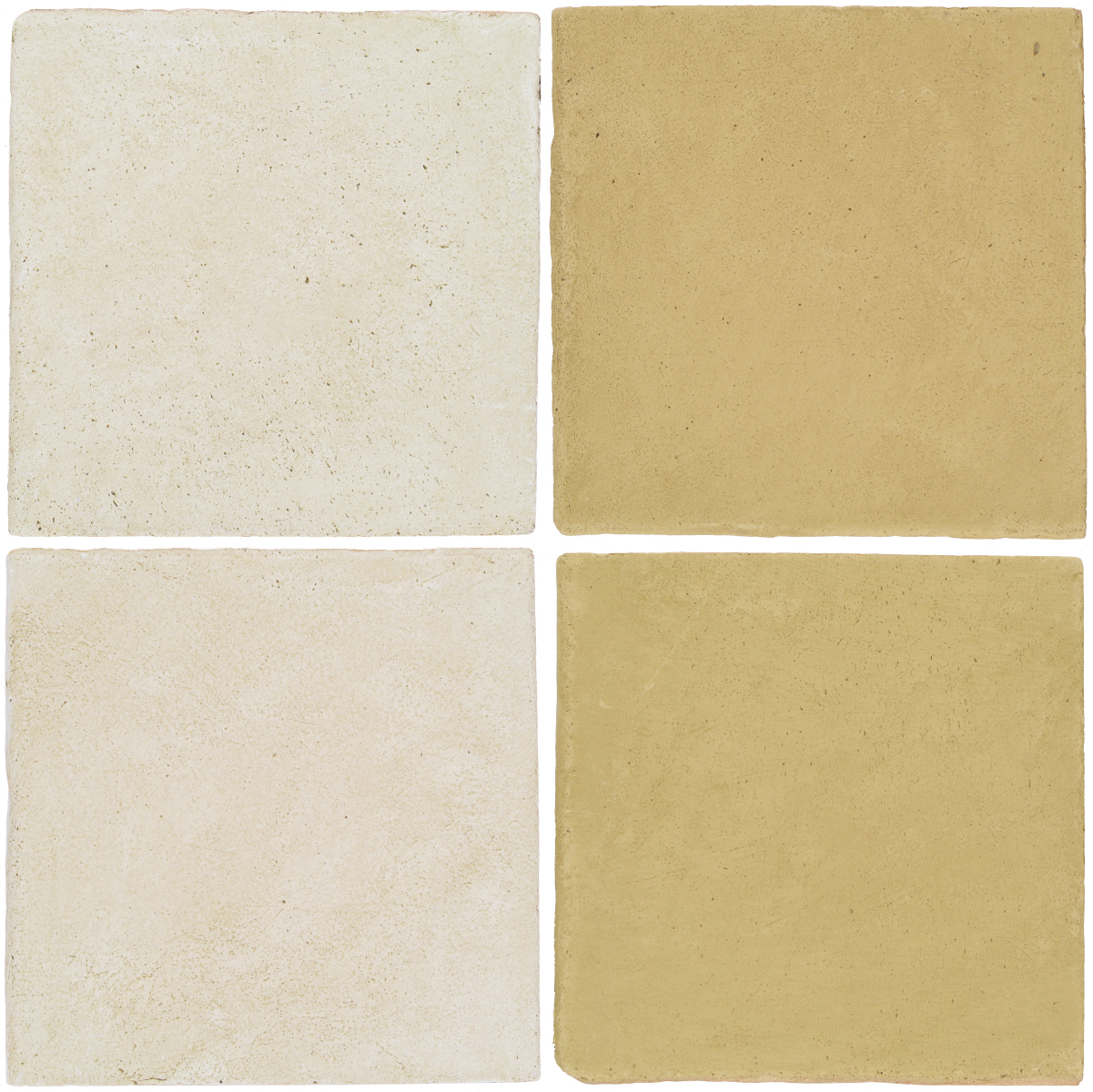 Pedralbes Antique Terracotta  2 Color Combinations  OHS-PGAW Antique White + OHS-PGGW Golden W.