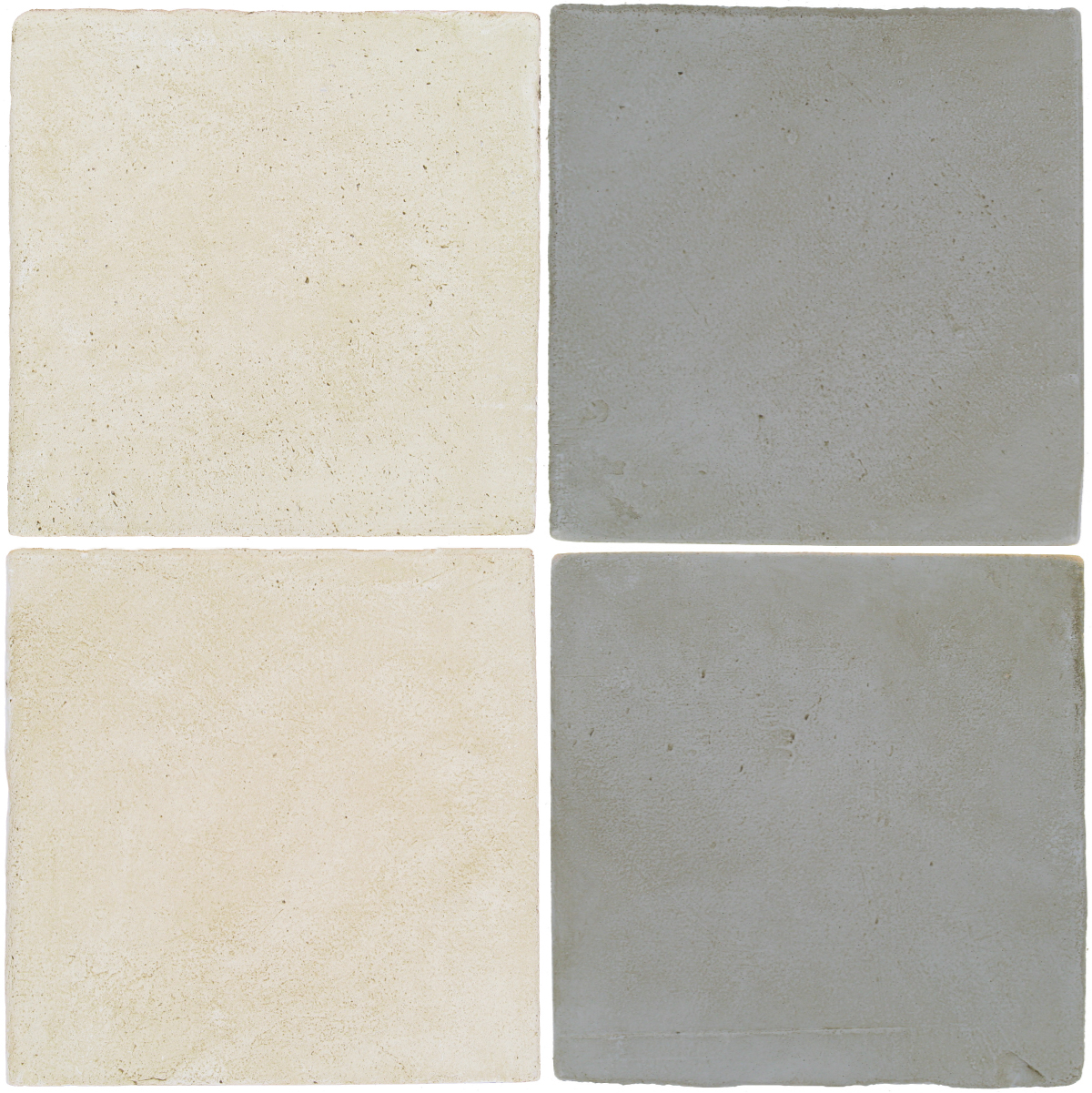 Pedralbes Antique Terracotta  2 Color Combinations  OHS-PGAW Antique White + OHS-PGOG Oyster Grey