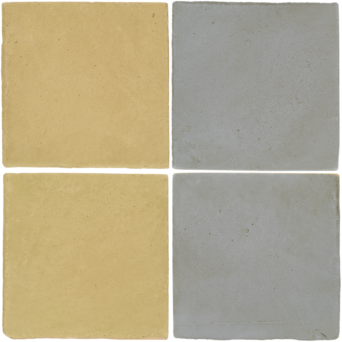 Pedralbes Antique Terracotta  2 Color Combinations  OHS-PGGW Golden W. + OHS-PGOG Oyster Grey