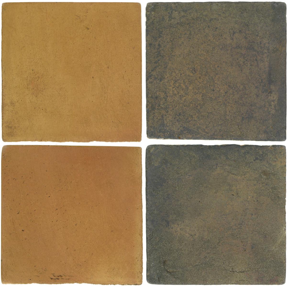 Pedralbes Antique Terracotta  2 Color Combinations  OHS-PSSW Siena Wheat + VTG-PSTG Terra Grey