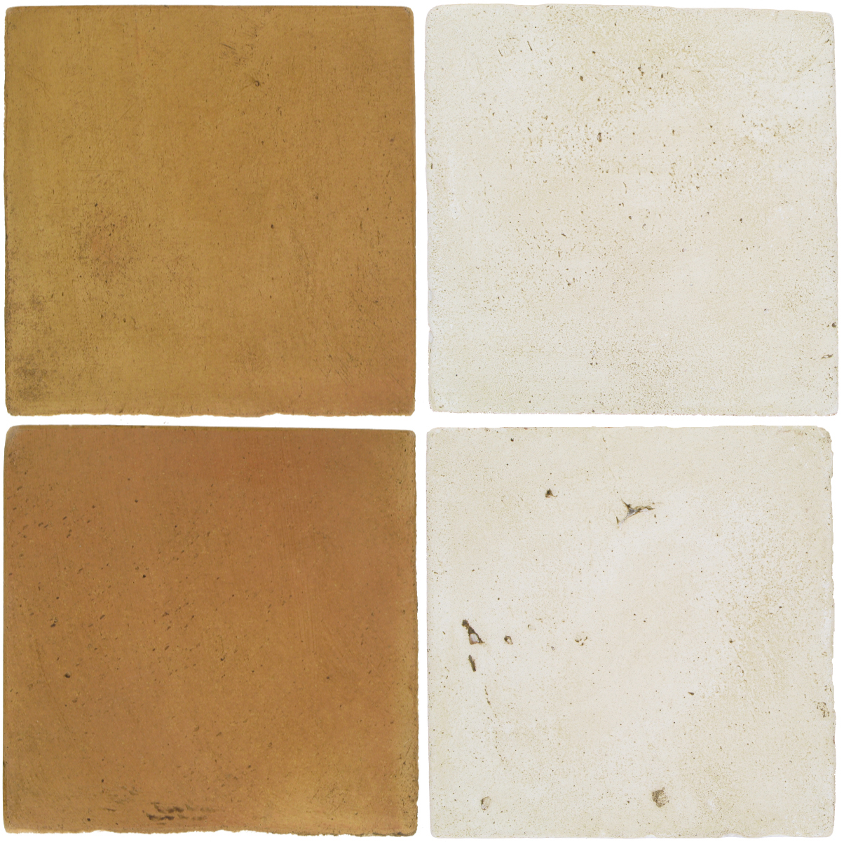Pedralbes Antique Terracotta  2 Color Combinations  OHS-PSSW Siena Wheat + VTG-PGAW Antique White