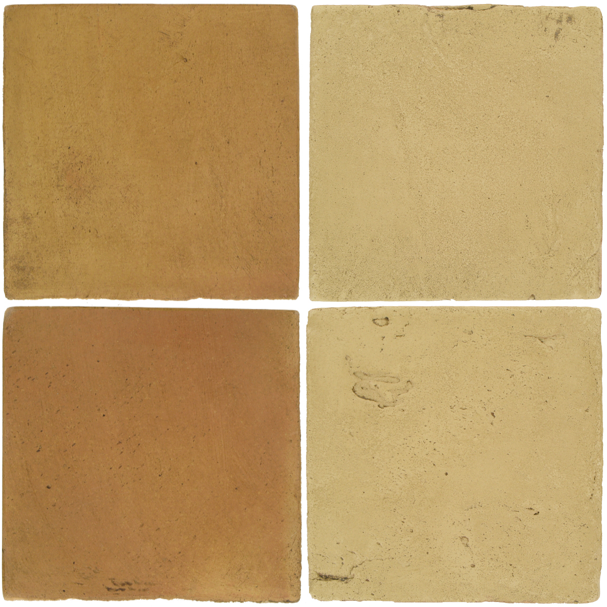 Pedralbes Antique Terracotta  2 Color Combinations  OHS-PSSW Siena Wheat + VTG-PGGW GoldenW.