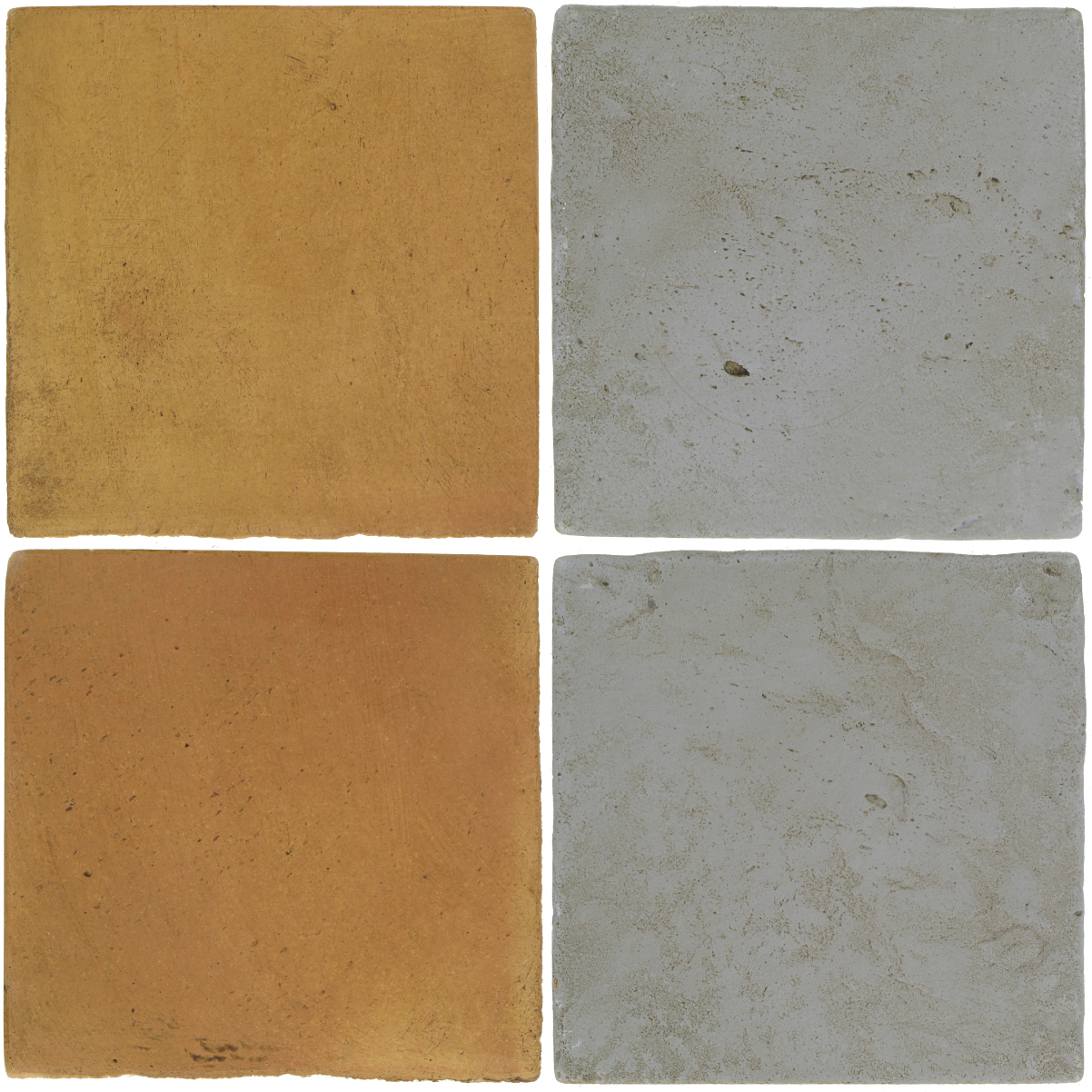 Pedralbes Antique Terracotta  2 Color Combinations  OHS-PSSW Siena Wheat + VTG-PGOG Oyster Grey