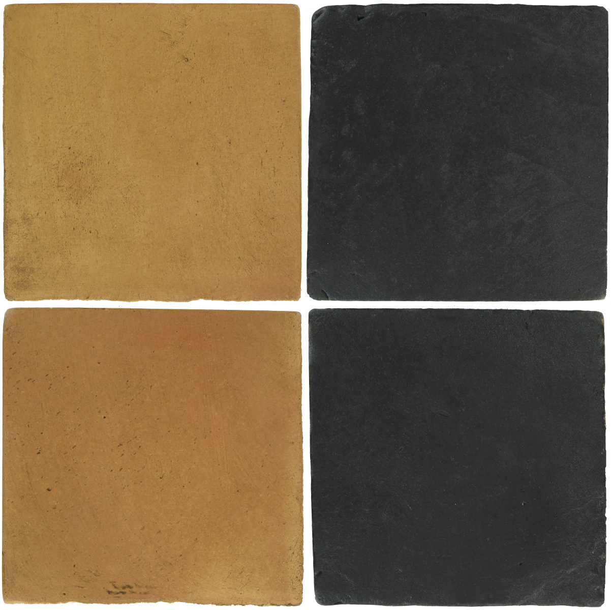 Pedralbes Antique Terracotta  2 Color Combinations  OHS-PSSW Siena Wheat + VTG-PGCB Carbon Black