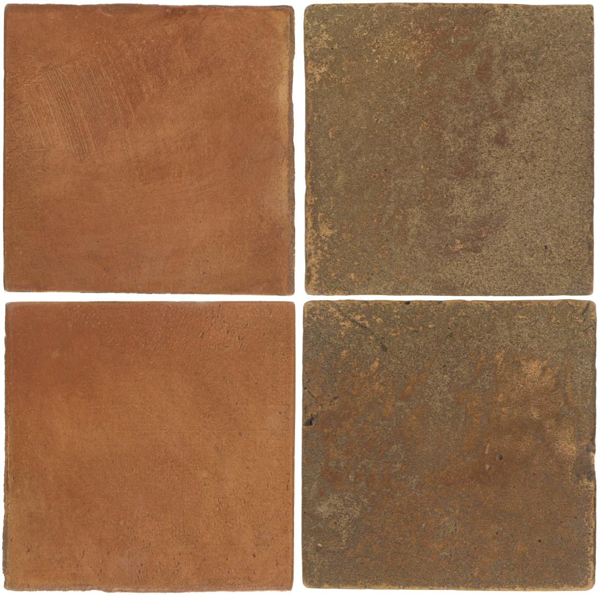 Pedralbes Antique Terracotta  2 Color Combinations  OHS-PSTR Traditional + VTG-PSCM Camel Brown