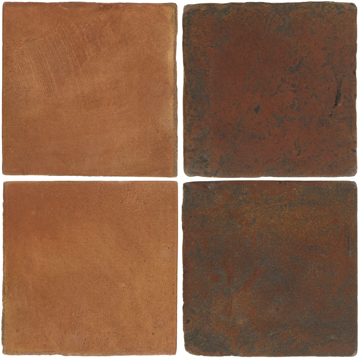 Pedralbes Antique Terracotta  2 Color Combinations  OHS-PSTR Traditional + VTG-PSOW Old World