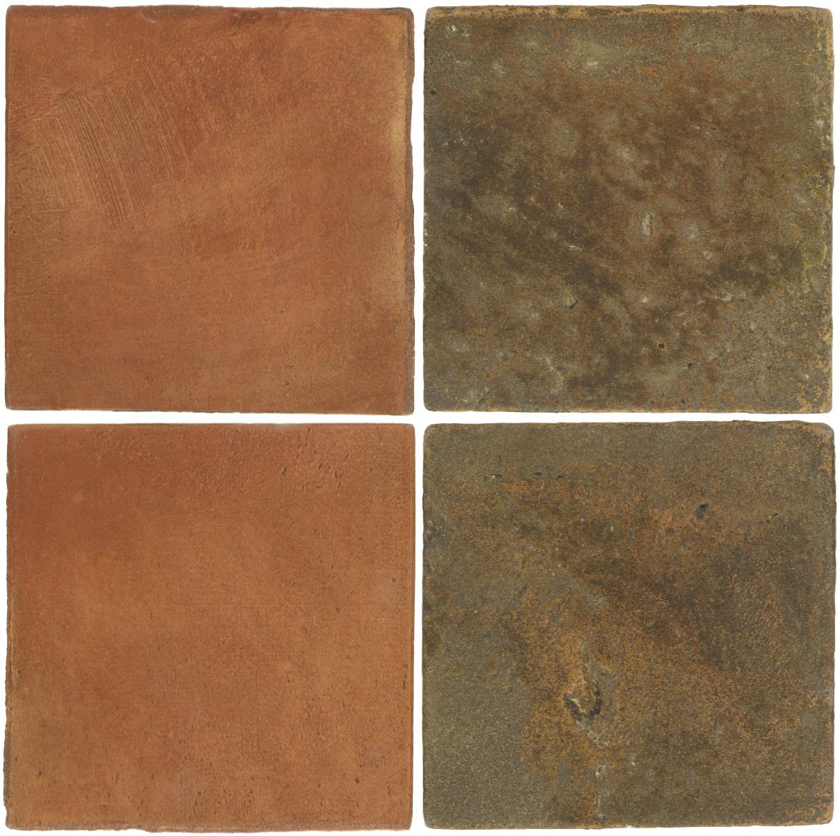 Pedralbes Antique Terracotta  2 Color Combinations  OHS-PSTR Traditional + VTG-PSVN Verona Brown