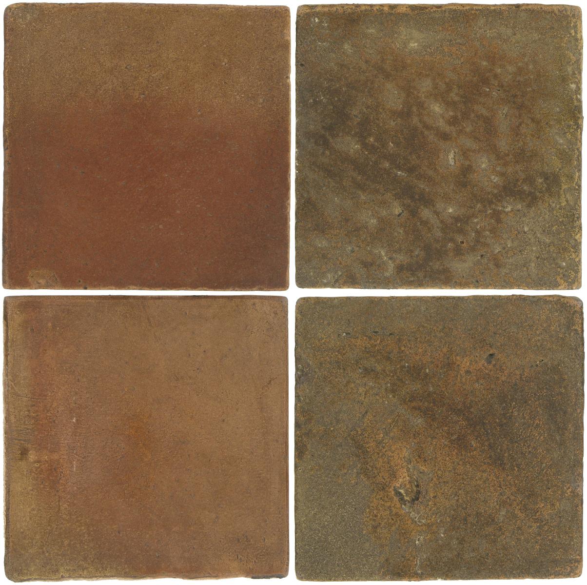 Pedralbes Antique Terracotta  2 Color Combinations  OHS-PSCM Camel Brown + VTG-PSVN Verona Brown