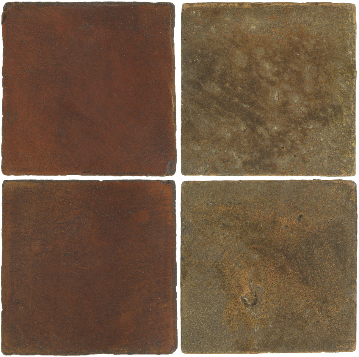 Pedralbes Antique Terracotta  2 Color Combinations  OHS-PSOW Old World + VTG-PSVN Verona Brown