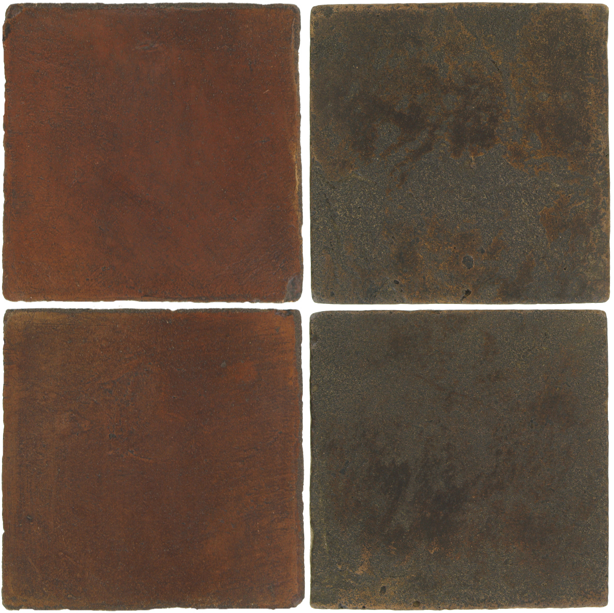 Pedralbes Antique Terracotta  2 Color Combinations  OHS-PSOW Old World + VTG-PSCO Cologne Brown
