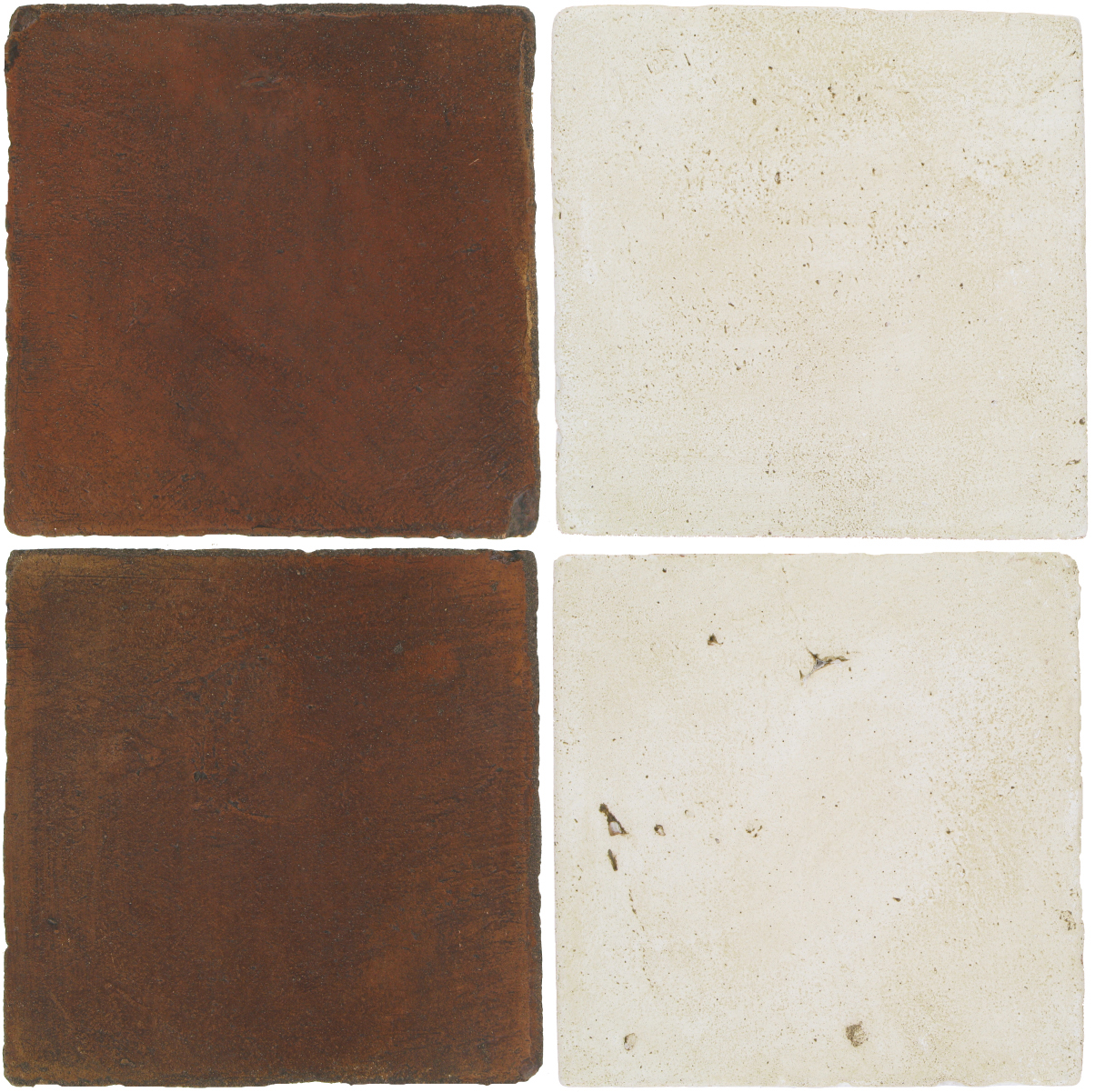 Pedralbes Antique Terracotta  2 Color Combinations  OHS-PSOW Old World + VTG-PGAW Antique White