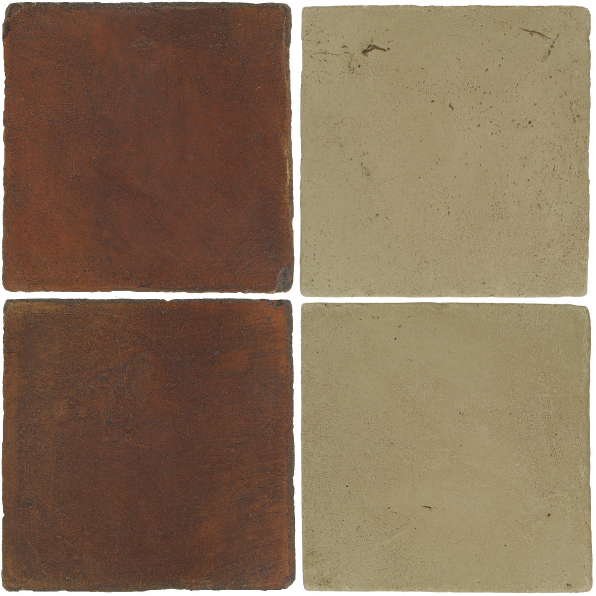 Pedralbes Antique Terracotta  2 Color Combinations  OHS-PSOW Old World + VTG-PGDW Dirty W.